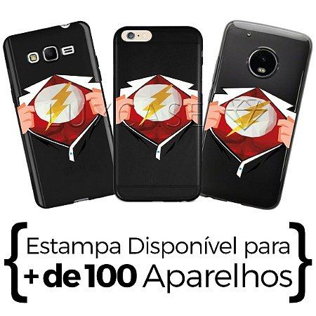 Capinha Camisa Flash - Black