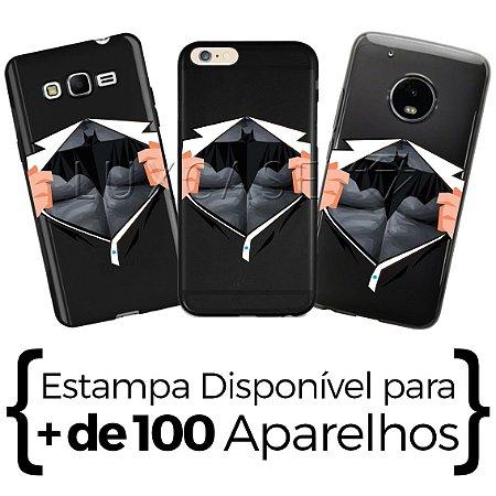 Capinha Camisa Batman - Black