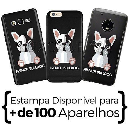 Capinha Bulldog Francês - Black