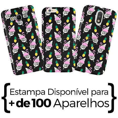 Capinha - Flamingo Abacaxi - Black