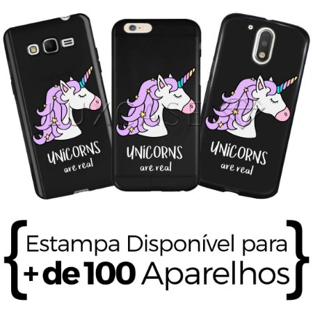 Capinha - Unicorns are Real - Black