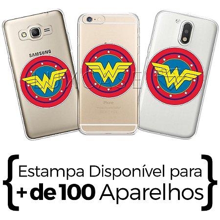 Capinha - Escudo Mulher Maravilha
