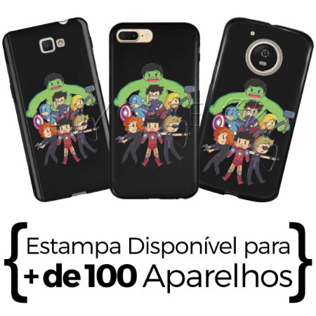 Capinha - Avengers Toy - Black