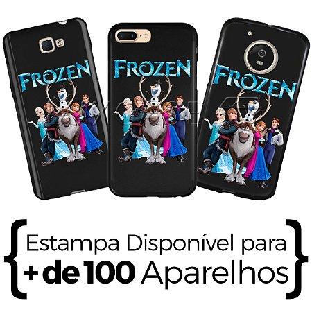 Capinha - Personagens Aventura Congelante - Black