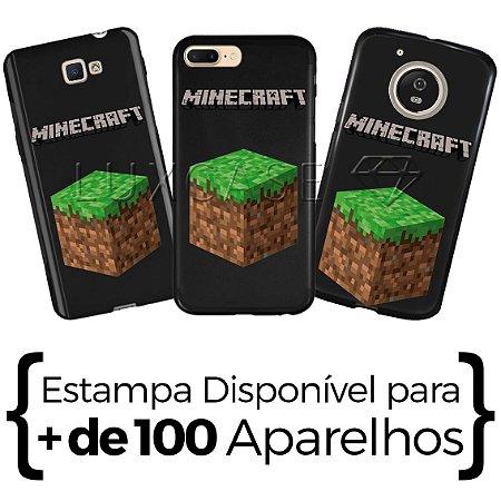 Capinha Minecraft - Black