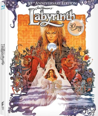 Blu-Ray - Labirinto - A Magia do Tempo (30th Anniversary Edition)