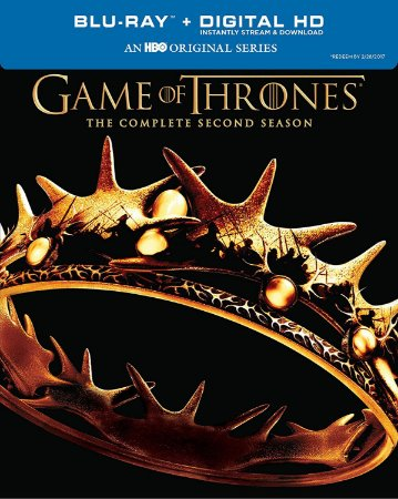 Blu-Ray - Game Of Thrones - 2 Temporada