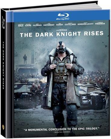 Blu-Ray - Batman - O Cavaleiro das Trevas Ressurge (Digibook with Comic Book)