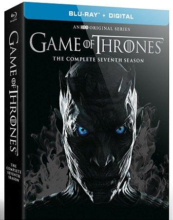Blu-Ray - Game of Thrones: 7 Temporada (DEFEITO DE EMBALAGEM - LEIA DESCRIÇÃO)