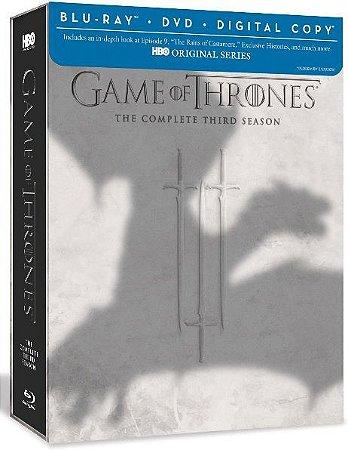 Blu-Ray - Game of Thrones: 3 Temporada (DEFEITO DE EMBALAGEM - LEIA DESCRIÇÃO)