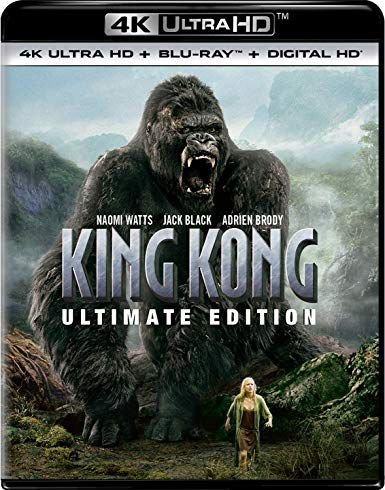 Blu-Ray 4K - King Kong - Ultimate Edition