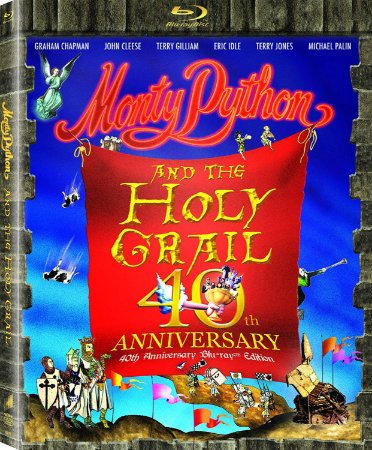 Blu-ray - Monty Python Em Busca do Cálice Sagrado - 40th Anniversary Edition
