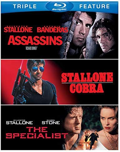 Blu-ray - Assassinos - Stallone: Cobra - Os Especialistas