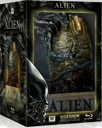 Blu-ray - Alien Anthology (Limited Collectors Gift Set Edition with Egg Statue)