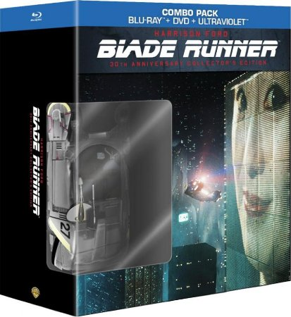 Blu-ray - Blade Runner 30th Anniversary Collectors Edition (4-Disc Blu-ray / DVD + Book)