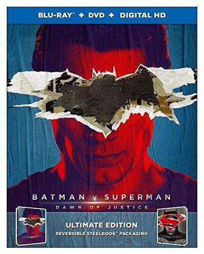 Blu-ray - Batman vs Superman: A Origem da Justiça - Steelbook