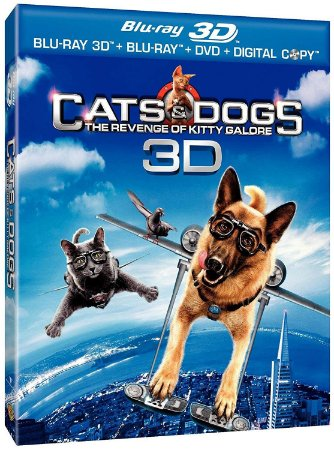 Blu-ray - Como Cães e Gatos 2: A Vingança de Kitty Galore - 3D