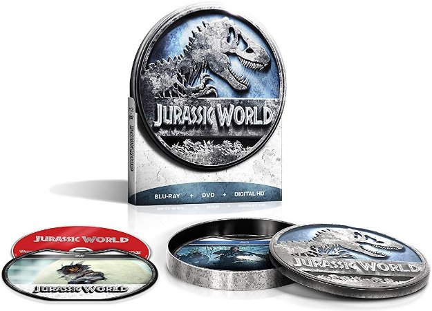 Blu-ray - Jurassic World - Limited Edition Packaging (Blu-ray + DVD + Digital HD)