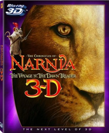 Blu-ray - As Cronicas de Narnia: A Viagem do Peregrino (3D)