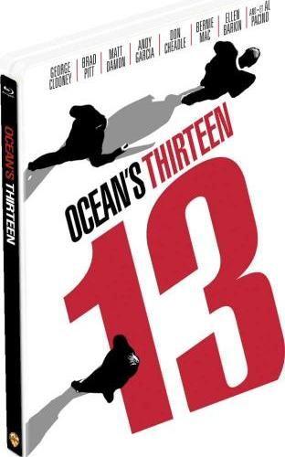 Blu-ray - Treze Homens e um Novo Segredo (STEELBOOK)