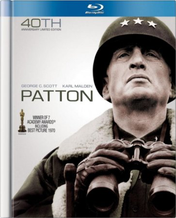 Blu-ray - Patton, Rebelde ou Heroi? - Blu-ray Book (40th Anniversary Limited Edition)