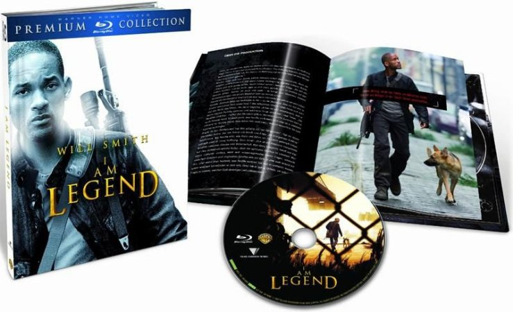 Blu-ray - Eu Sou A Lenda (Premium Collection)