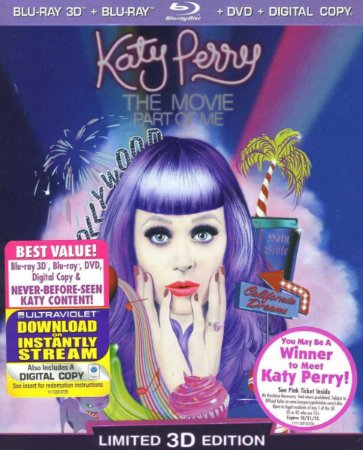 Katy Perry: Part of Me (Three-Disc Combo: Blu-ray 3D)