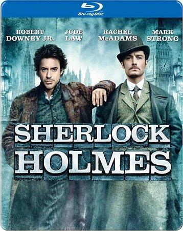 Blu-ray - Sherlock Holmes (SteelBook Packaging)