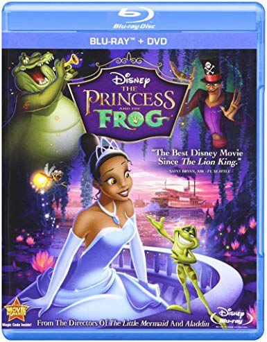 Blu-ray - A Princesa e o Sapo