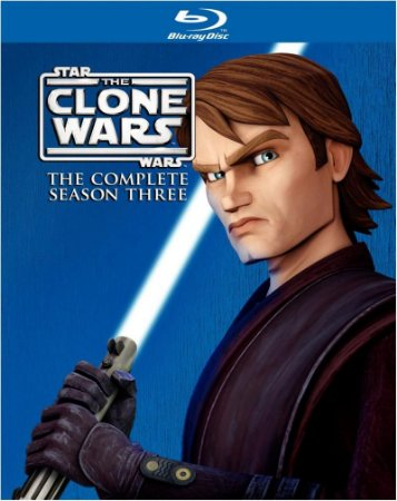 Blu-ray - Star Wars: The Clone Wars - Season 3