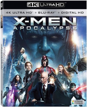 Blu-ray 4K - X-Men: Apocalipse