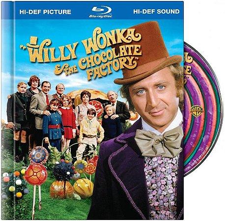 Blu-ray - A Fantástica Fábrica de Chocolate (DIGIBOOK)