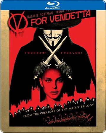 Blu-ray - V de Vingança
