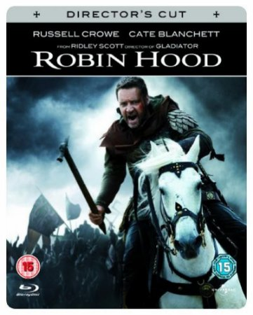 Blu-ray - Robin Hood - Extended Directors Cut (Steelbook with Booklet)