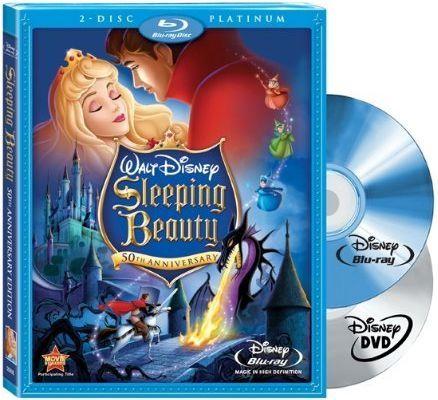 Blu-ray - A Bela Adormecida - Platinum Edition