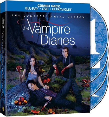 Blu-ray - Diários de um Vampiro - 3 Temporada