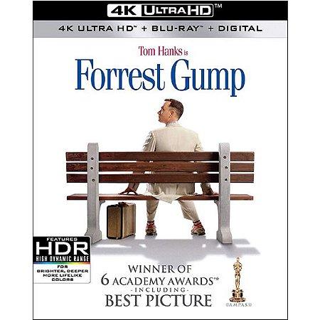 Blu-Ray 4K – Forrest Gump: O Contador de Histórias