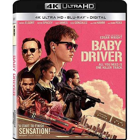 Blu-ray 4K – Em Ritmo de Fuga