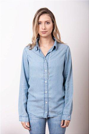 Camisa em Liocel Azul Claro - 1º Ciclo