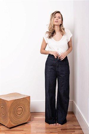 Calça Pantalona Black Jeans - 1º Ciclo