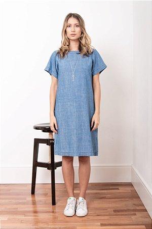 Vestido Jeans Azul Claro - 1º ciclo