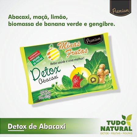Detox De Abacaxi c/ Biomassa (10 un.)