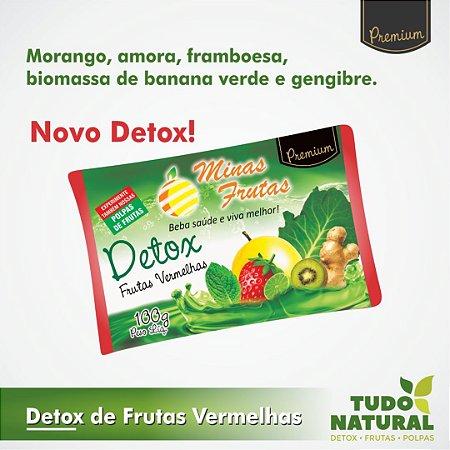 Detox De Frutas Vermelhas (10 unidades)