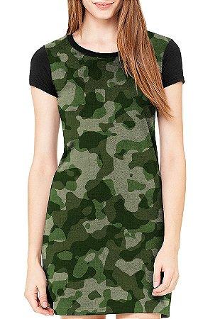 Vestido - Camo Army