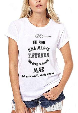 camiseta - mãe tatuada