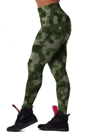 Legging - Camo Army - Suplex