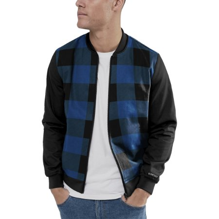 Jaqueta Bomber Chess Clothing Xadrez Mescla