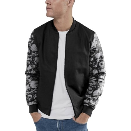 Jaqueta Bomber Chess Clothing Manga Skulls