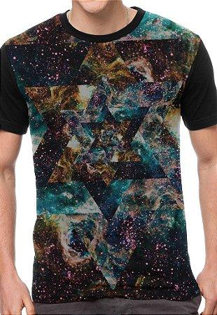 Camiseta Chess Clothing Star Preta
