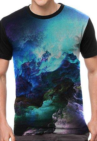 Camiseta Chess Clothing Wave Preta
